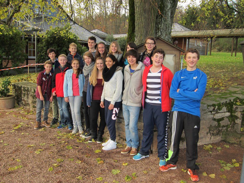 Das Team aus dem Schuljahr 2014/2015
